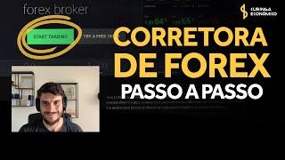 ABRINDO CONTA NA CORRETORA DE FOREX (Real ou Demonstrativa)...Passo a Passo  IC Markets!
