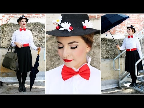 Mary Poppins DIY | Costume, Hair, Makeup
