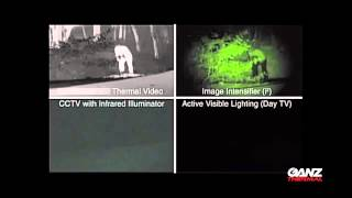 Ganz Thermal Camera Demonstration - Through Foilage