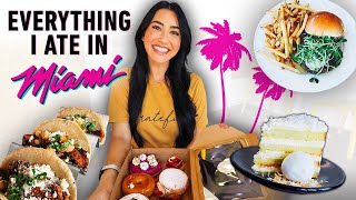 Everything I Ate in Miami ☀️(Food Reviews & Recommendations)