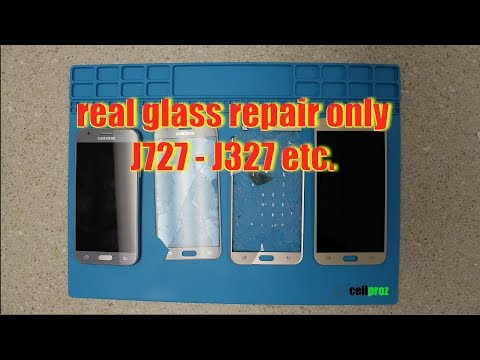 How To Replace Glass Only - Any Samsung - J3 Prime j327 [Emerge ]- J727 Prime  etc.
