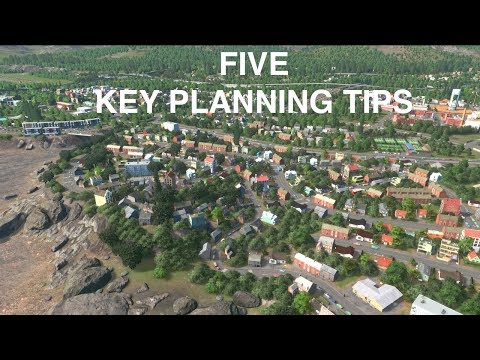 FIVE Key Town Planning Tips