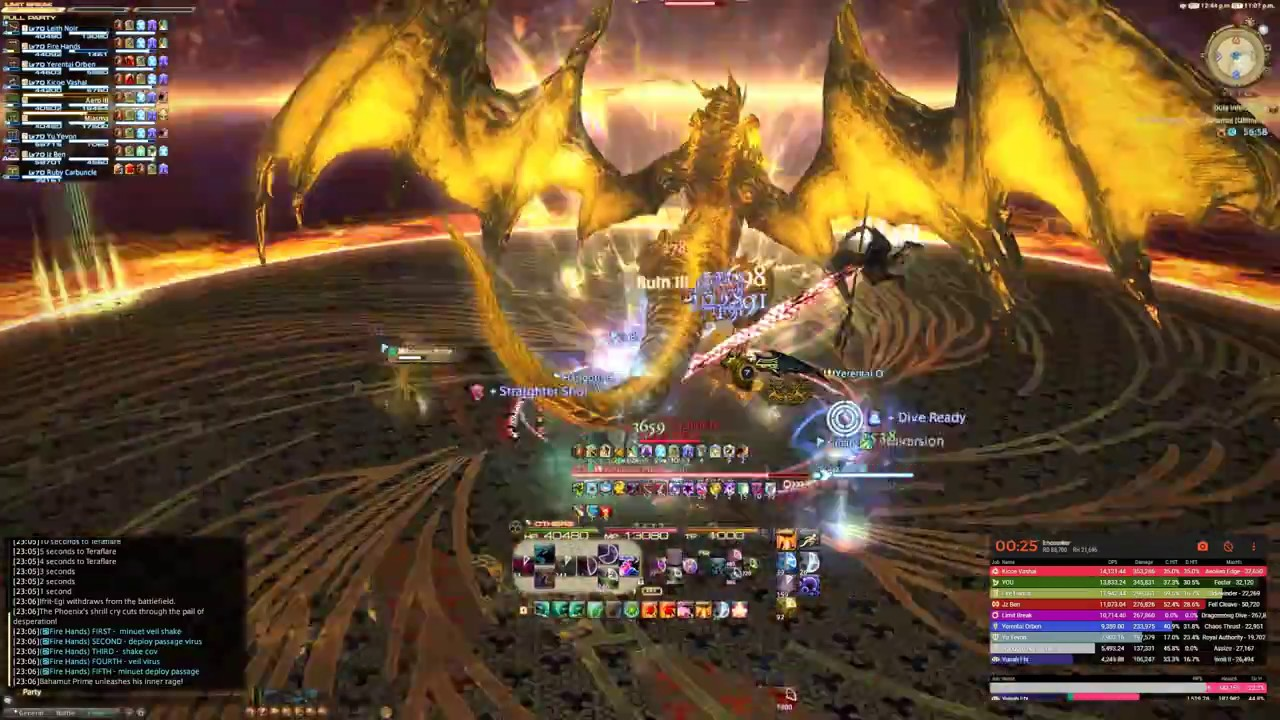 FF14 World 2nd The Unending Coil Of Bahamut Ultimate SMN YouTube