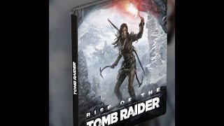 Rise of the Tomb Raider Steelbook Edition[Xbox One][Unboxing]HD