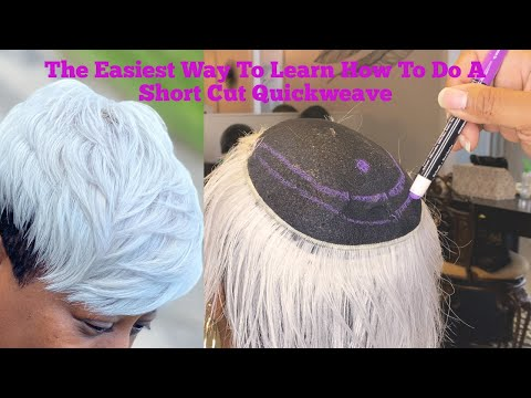 The Easiest Way To Learn How To Do A Short Cut Quickweave!!!!