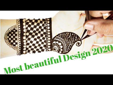 Bridal Front Hand Mehndi Design Janmakshar Jyotish