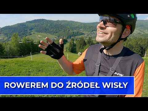Rowerem do źródeł Wisły (Vlog122)