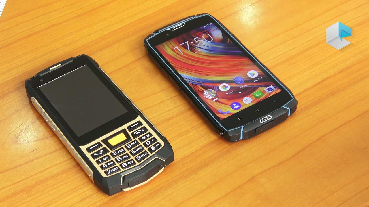 VKWorld VK7000 e VK4000 rugged smartphone IP68 con side fingerprint