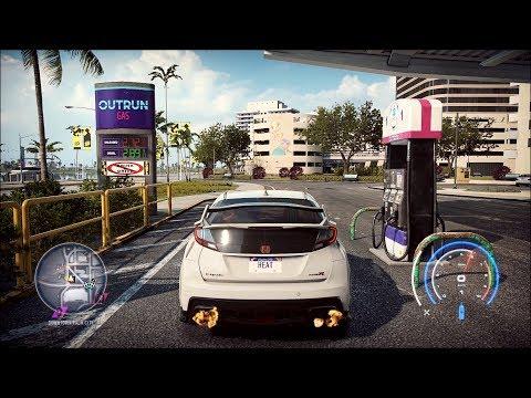 Need for Speed Heat - Honda Civic Type-R 2015 - Open World Free Roam Gameplay (PC HD) [1080p60FPS]