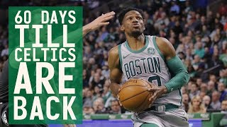 60 days till Celtics are back: #60 Jonathan Gibson hits three 3-pointers in his Celtics debut!