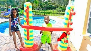 Kids Inflatable Limbo Splash Challenge