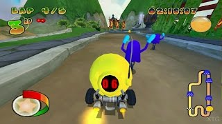 Pac-Man World Rally PS2 Gameplay HD (PCSX2)