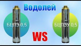 Насосы Водолей (Украина) обзор БЦПЭ и БЦПЭУ