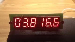 Частотомер цифровая шкала шестиразрядная 0 50 МГц