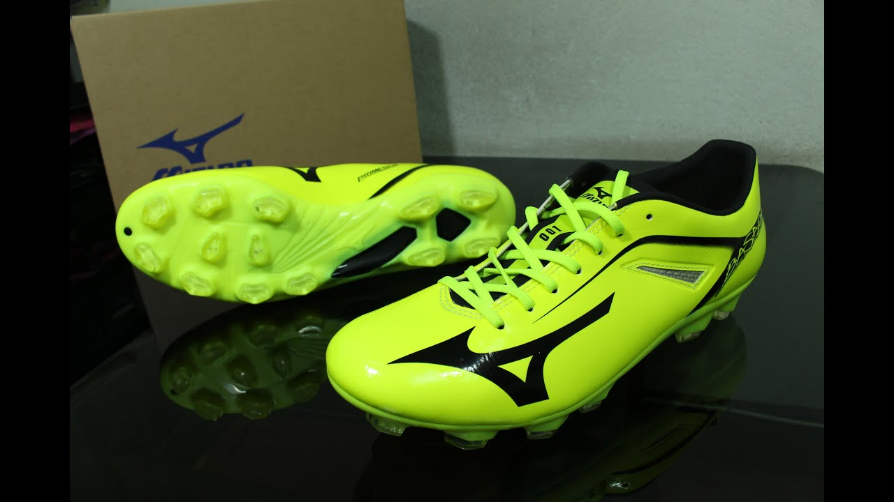 best sneakers 2c592 d3179 purchase mizuno basara 001 md unboxing on feet first impression thai  youtube the mainly yellow release