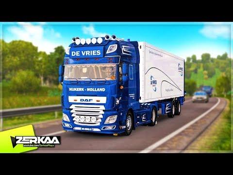 The BEST Simulator Game EVER Made? (Euro Truck Simulator 2) |