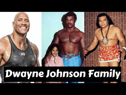 Actor Dwayne Johnson Family Photos With Partner,Former Spouse,Daughter,Father,Mother,Brother,Sister,