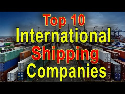 Top 10 International Shipping Companies (Container) - List Of The Best Cargo Shipping Company