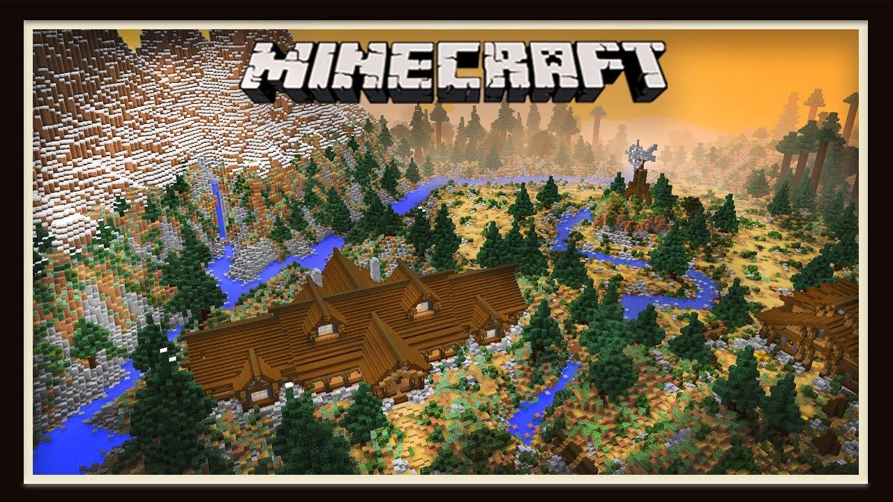 Minecraft Custom Biome Landscaping Timelapse Youtube