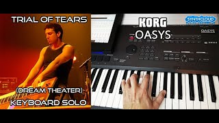 Trial Of Tears Keyboard Solo - Sherinian Dream Theater S4K Monster Planet on Oasys / Kronos