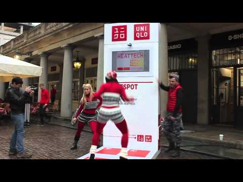 UNIQLO UNVEILS PLANS TO WARM UP LONDON WITH HEATTECH