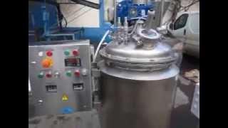Реактор объемом 125 л. (косметическая промышленность)