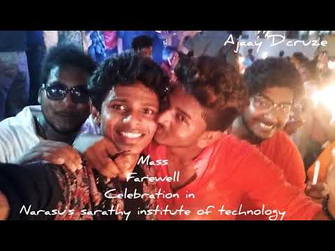 Narasu's Sarathy College Farewell 2K18 | AJAAY D'CRUZE