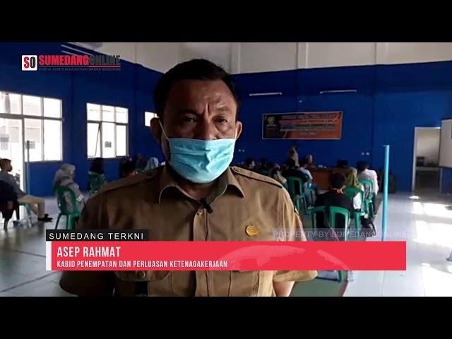 Disnakertrans Kabupaten Sumedang Gelar Kegiatan Tenaga Kerja Mandiri di Desa Serang