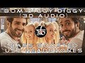 3D Audio | Bom Diggy Diggy | Bass Boosted | Zack Knight | Jasmin Walia | Virtual 3D Audio | HQ Mp3