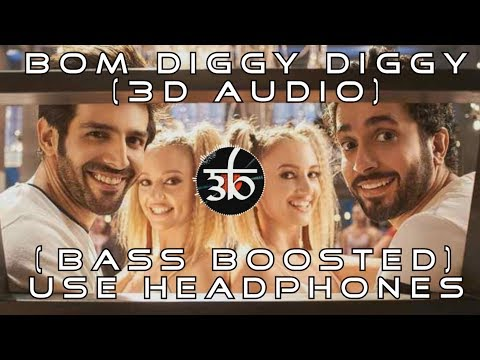 3D Audio | Bom Diggy Diggy | Bass Boosted | Zack Knight | Jasmin Walia | Virtual 3D Audio | HQ