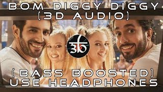 3D Audio | Bom Diggy Diggy | Bass Boosted | Zack Knight | Jasmin Walia | 3D Audio COVER | HQ