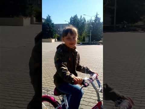 На велосипеде