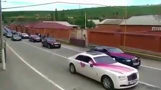 majorka_777_ Свадебный кортеж  племянника Рамзана Кадырова