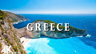 Greece 4K - Relaxing Music Along With Beautiful Nature Videos