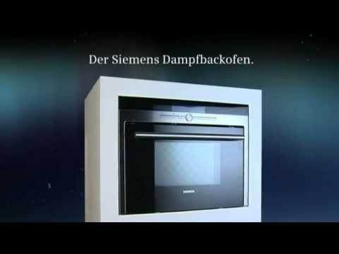 siemens backofen und dampfgarer der dampfbackofen erh ltlich bei moebelplus youtube. Black Bedroom Furniture Sets. Home Design Ideas