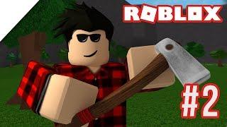 Ich bin ein LUMBERJACK! Roblox Willkommen in Bloxburg | Staffel 2 Ep. 2
