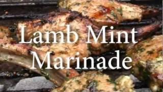 Mint Marinade for Lamb