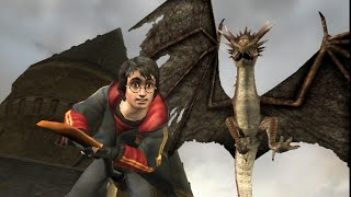 Harry Potter and the Goblet of Fire Walkthrough #7 Triwizard task 1 The dragon