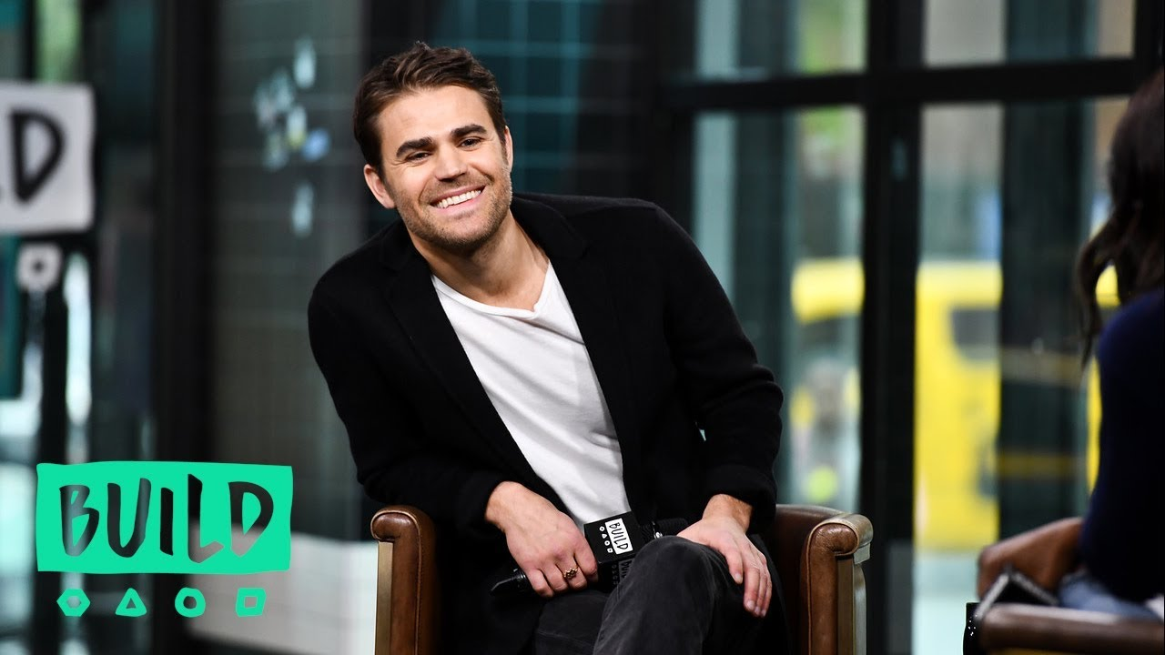 "Paul Wesley Misses His ""Vampire Diaries"" Family"