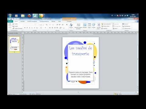Tutorial de creación de portadas con Microsoft Publisher.flv