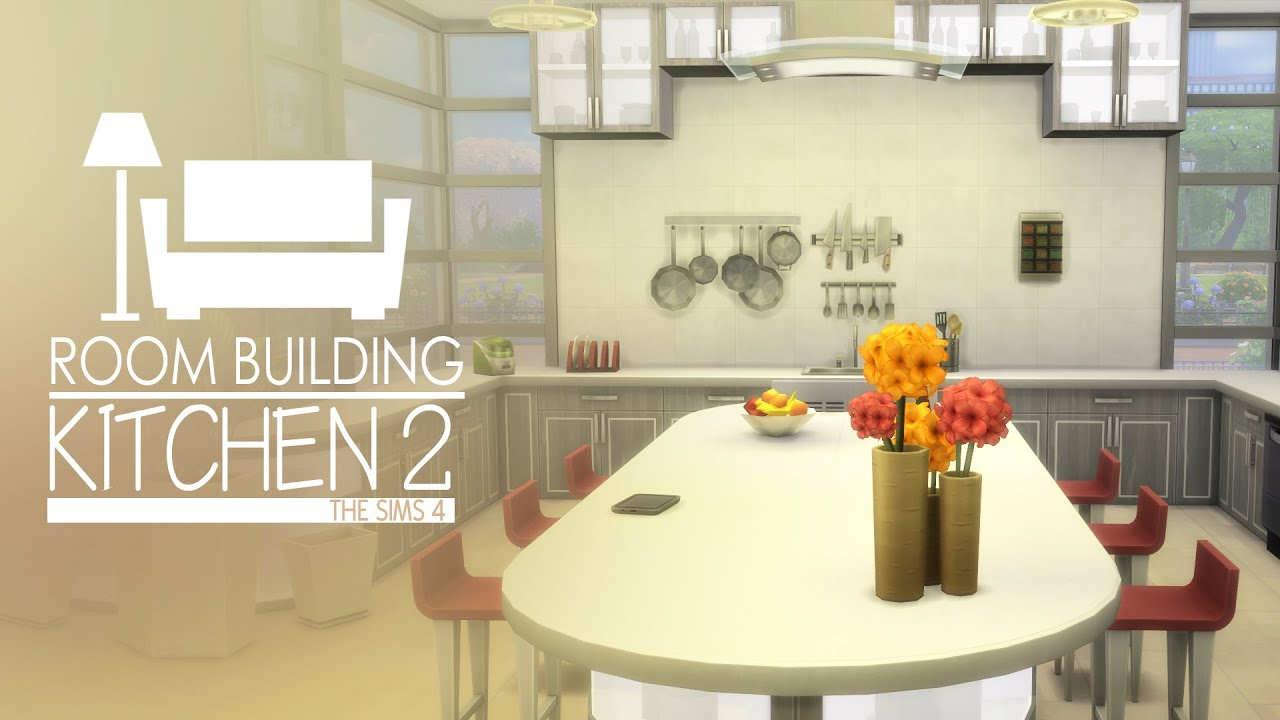 Cool Kitchen Stuff Beige Tiles The Sims 4 Room Build 2