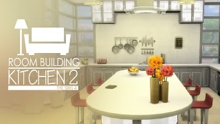 The Sims 4 - Room Build - Kitchen 2 (Cool Kitchen Stuff)