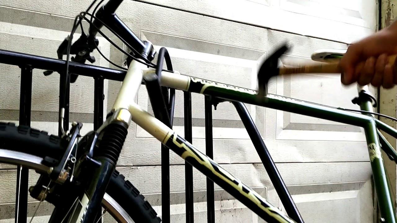 Cheapest Way To Break A Bicycle U Lock Youtube