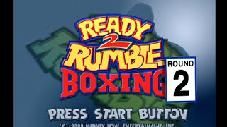 Ready 2 Rumble Boxing Round 2: PS2 Full Longplay