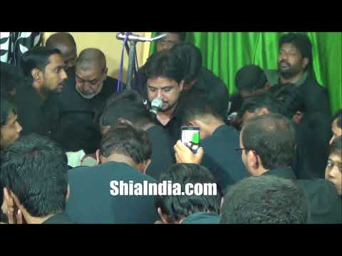 7th Muharram Maqsoos Majlis in Darulshifa 1439-2017-18