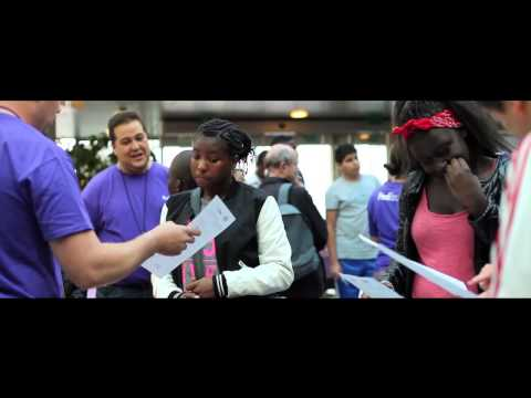 Fedex Cares Week 2012