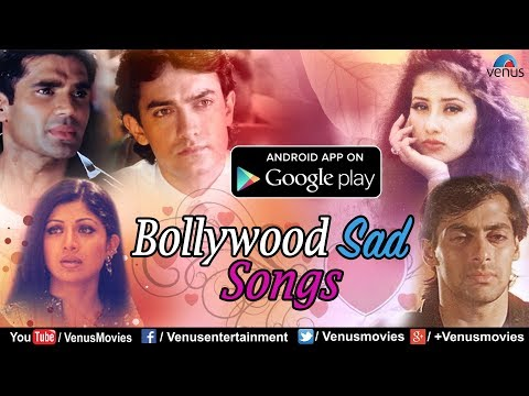 """Bollywood Sad Songs"" - Download FREE App @GooglePlayStore | 90's Evergreen Hindi Songs"