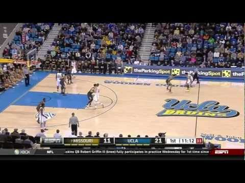 Missouri vs UCLA basketball 97-94 December 28, 2012 highlights montage gameplay