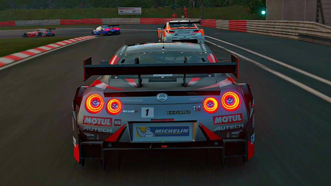 Gran Turismo Sport Play Nissan Motul Autech Gt R Nurburgring Nordschleife 1080p 60fps