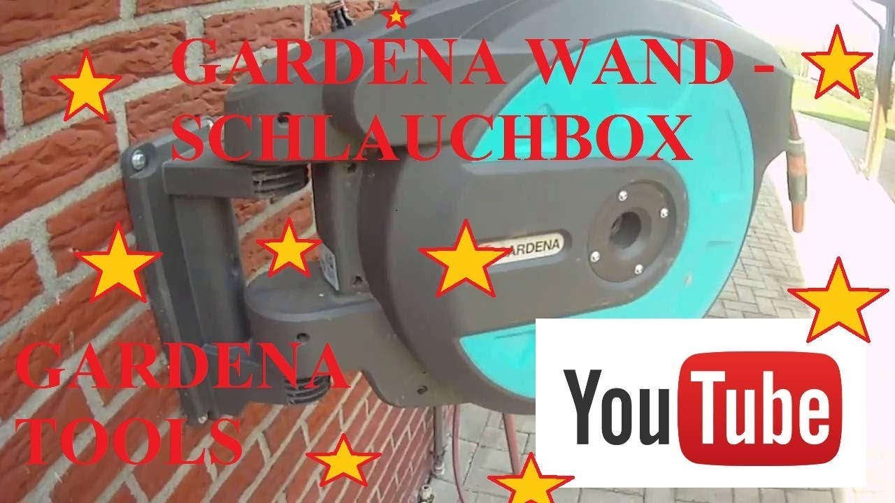 Gardena Wand Schlauchbox 25 : gardena 8023 20 comfort wand schlauchbox 25 roll up automatic produkttest youtube ~ Watch28wear.com Haus und Dekorationen